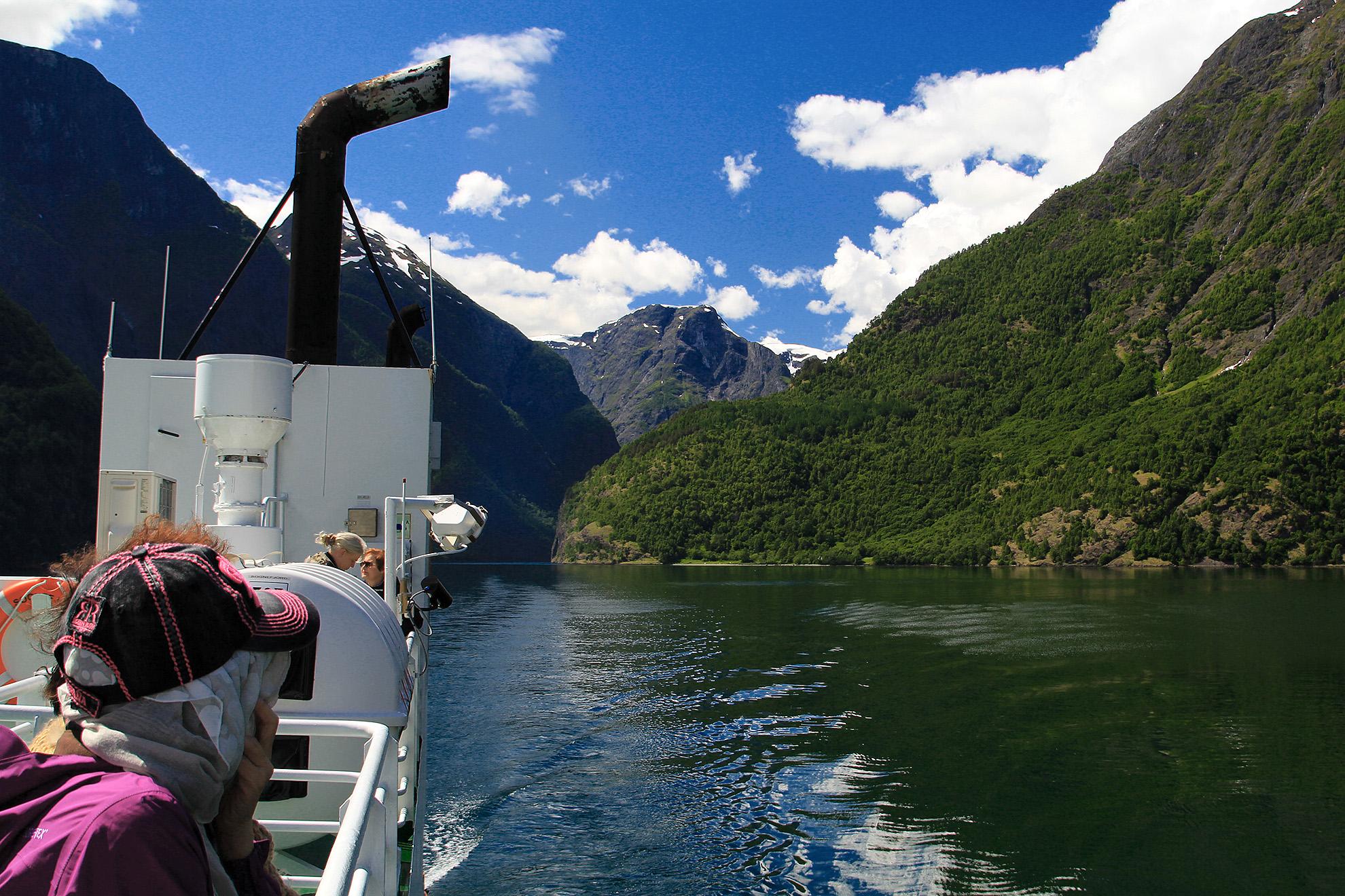 Nærøyfjorden,  juni  2014